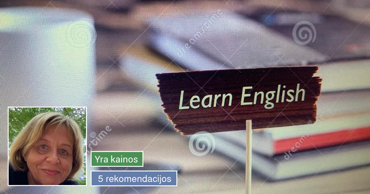 Anglų kalbos korepetitorė Kauno centre, tekstų redaktorė