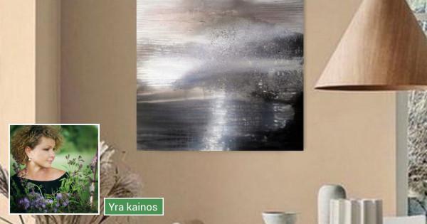 Dideli tapybos paveikslai interjerui nuo 300 €