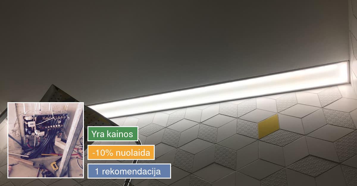 Kokybiški elektros sprendimai / interjero dizainas