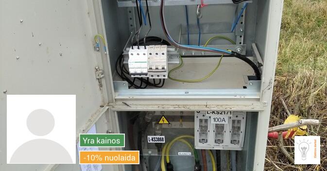 Elektros darbai Alytus - Pietų Lietuva