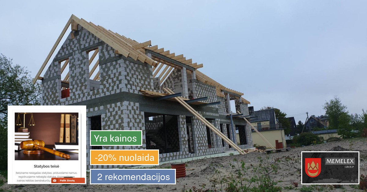 Statybos techninė priežiūra ir projektų
