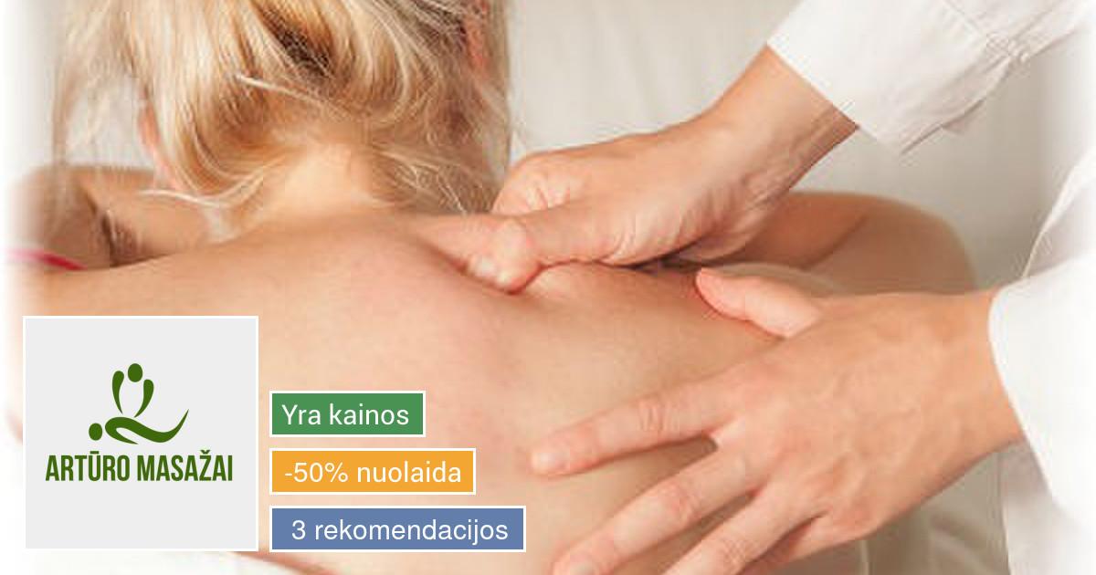 Terapinis masažas tai natūralus požiūris į geresnę sveikatą.