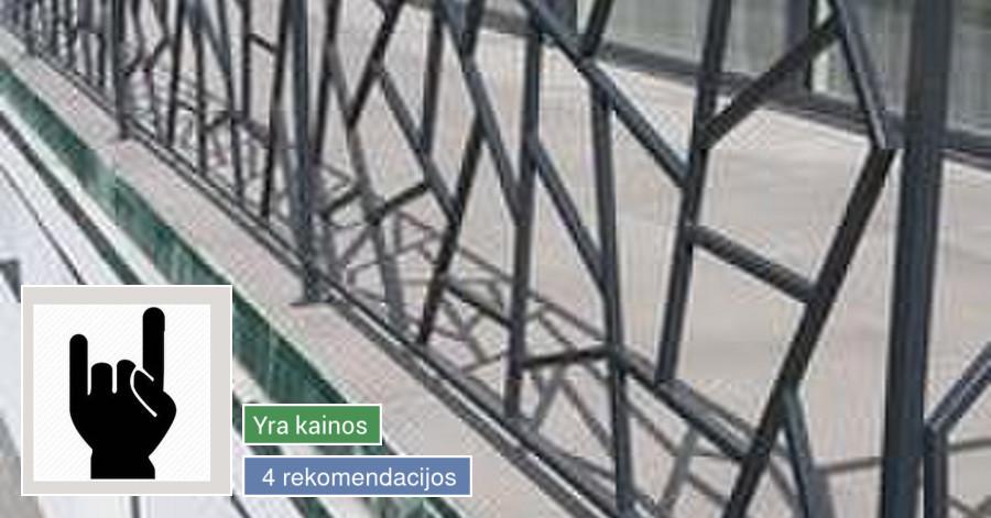 Metalo konstrukcijų gamyba