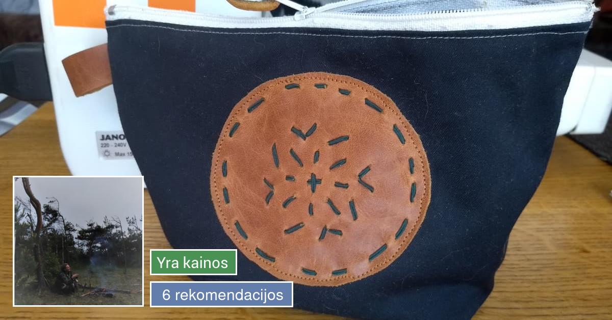 Dailiųjų tekstilės ir odos dirbinių gamyba