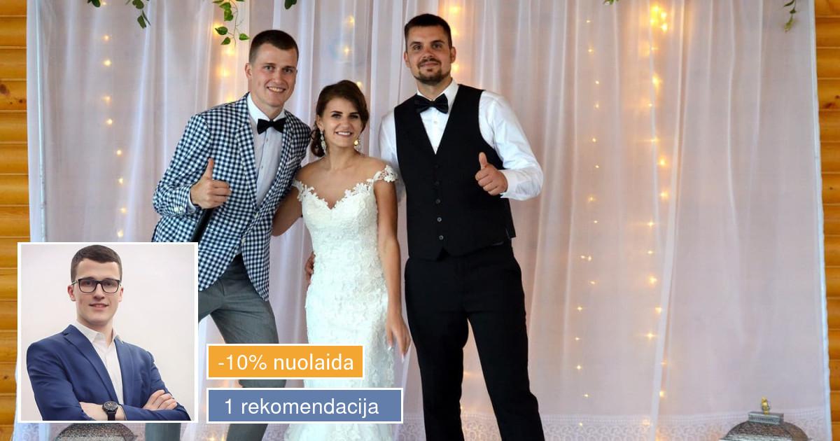 Renginių vedėjas DOVIDAS JONUŠAS su komanda! (LT, EN)