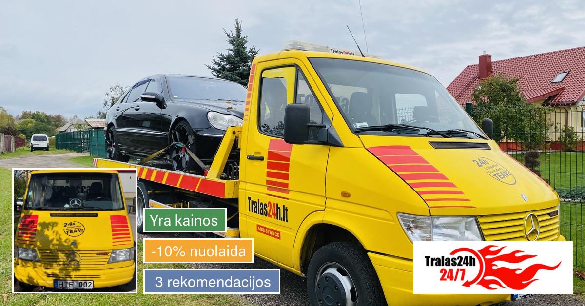 Technine pagalba kelyje Tralas Vilniuje