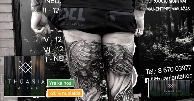 Lithuanian tattoo-Vilnius