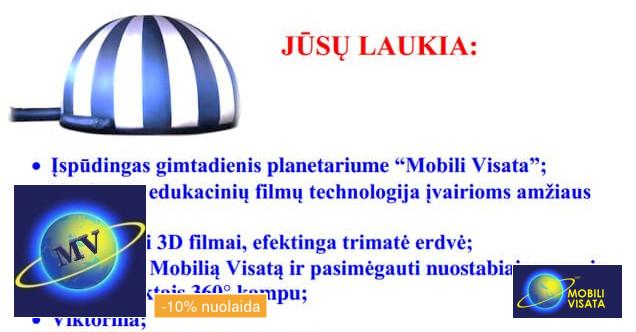 Mobilus kino teatras Mobili Visata