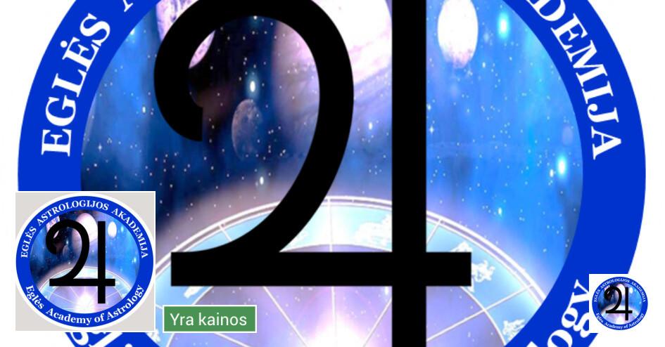 Profesionali, sertifikuota astrologė EGLĖ. Kursai, seminarai
