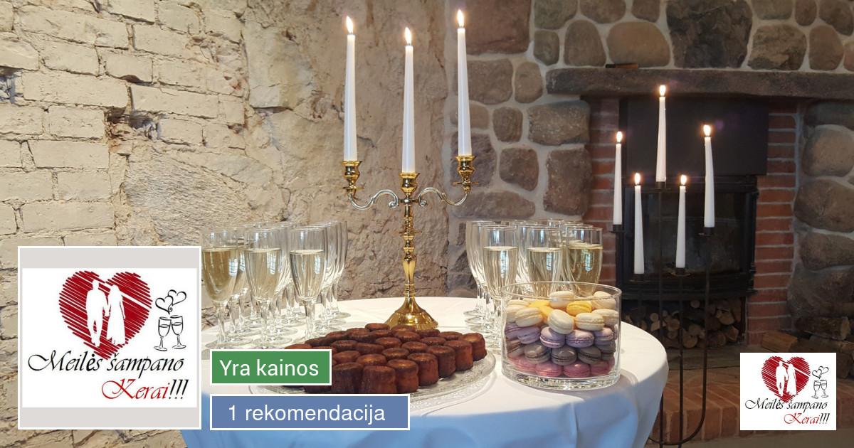 Šampano staliukai jūsų šventei :) !