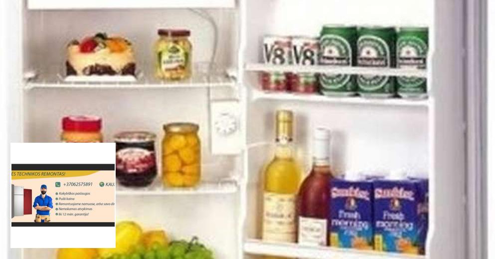 Šaldytuvų ir šaldiklių remontas