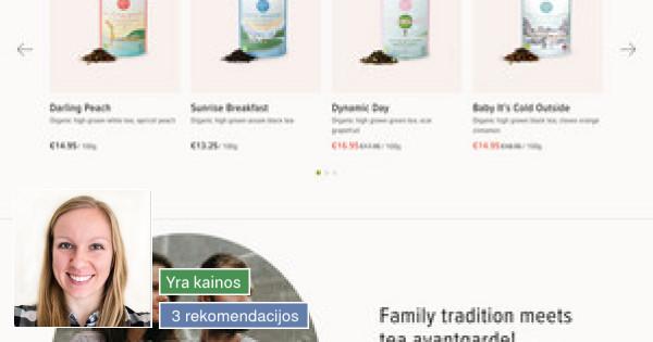 Web / grafikos dizainerė
