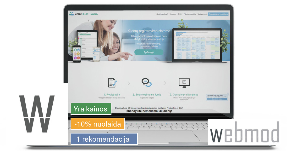 Nauja internetinė svetainė - nauji pasiekimai