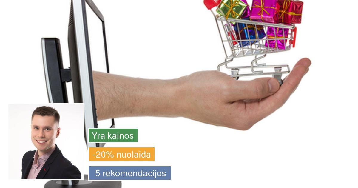 Internetinių svetainių - parduotuvių kūrimas
