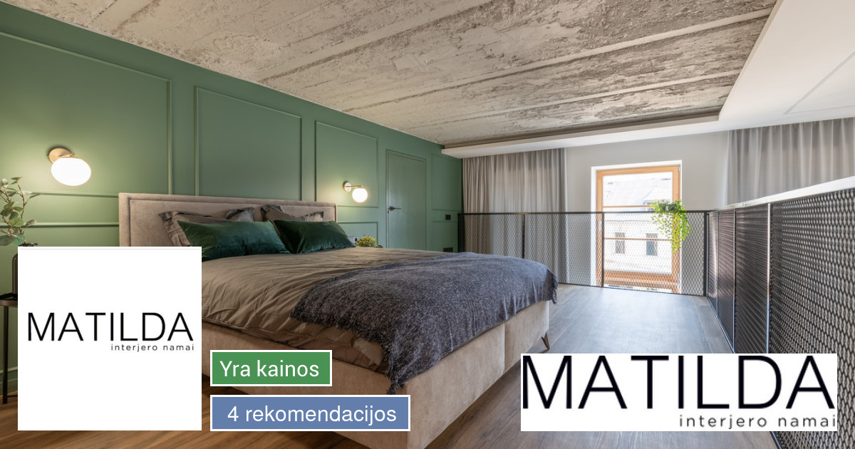 MATILDA interjero namai