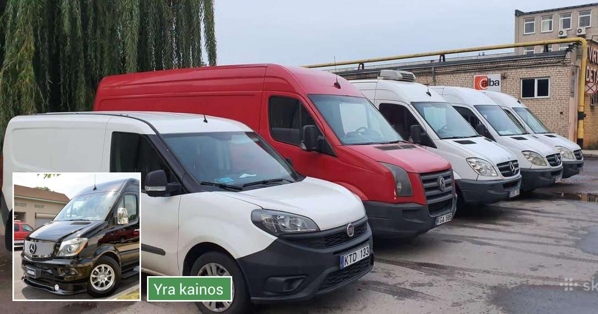 Krovinių pervežimas Kaune ir Vilniuje  - nuo 13 €/val