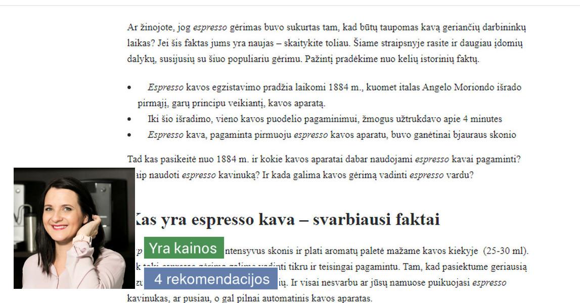 Tekstų kūrėja Kaune