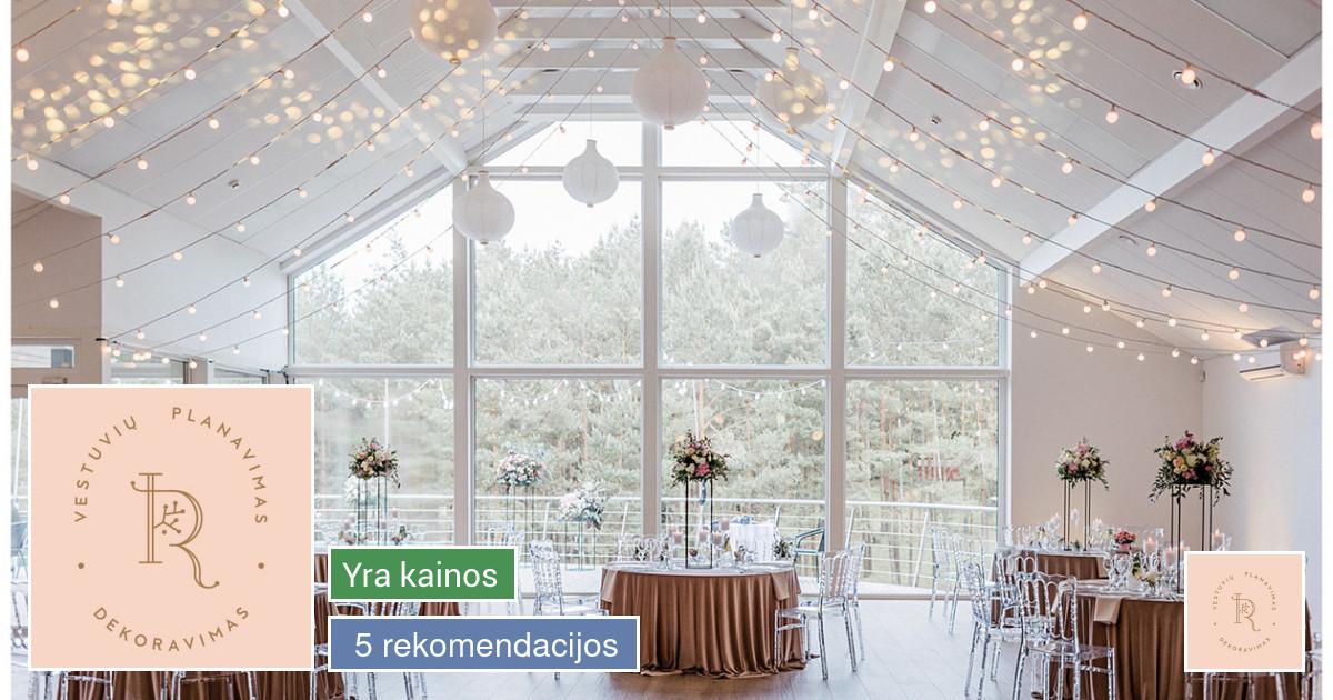 Vestuvių planuotoja - koordinatorė