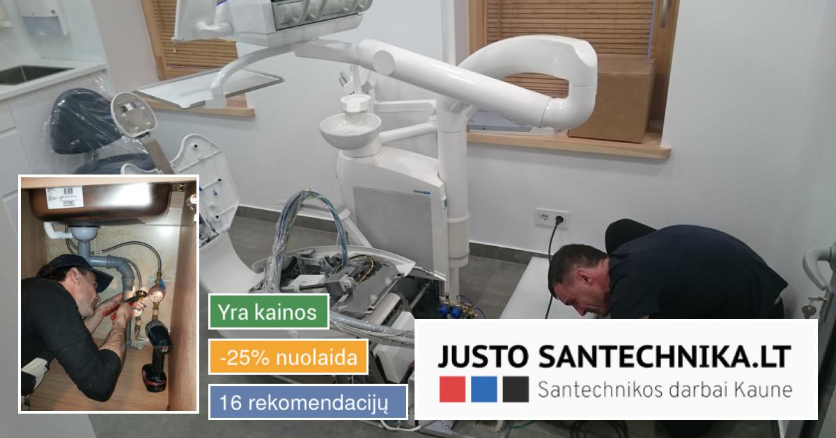 Santechnikos paslaugos Kaune
