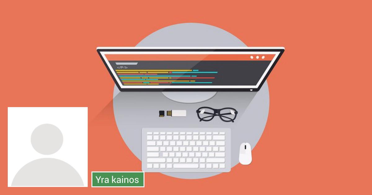 Web Development * Internetinių svetainių kūrimas