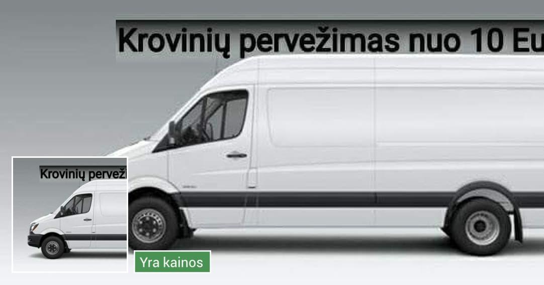 Krovinių  vežimas, krovinių pervežimas, perkraustymai Kaune