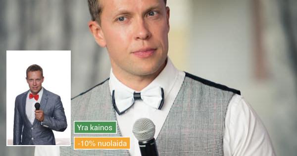 Renginių vedėjas Vilnius Kaunas Klaipėda