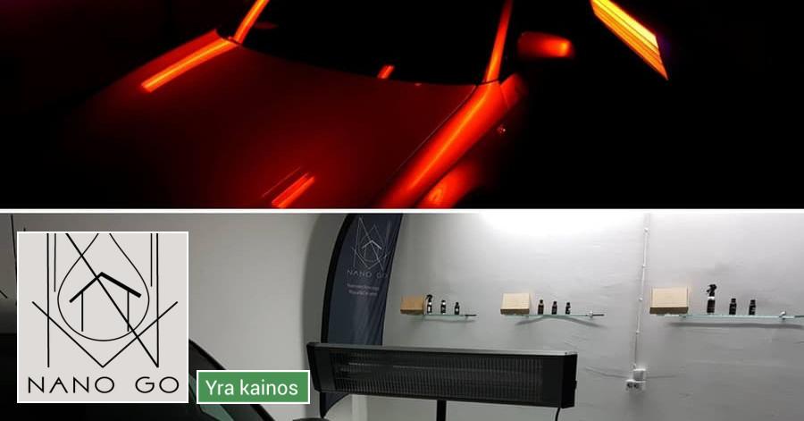 Automobilių poliravimas, Royal&ceramic nano danga
