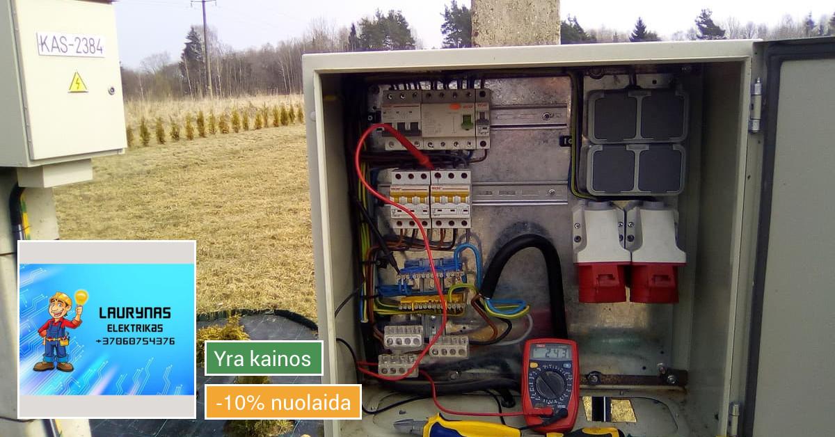 Kvalifikuotas elektrikas Kaune jums padės