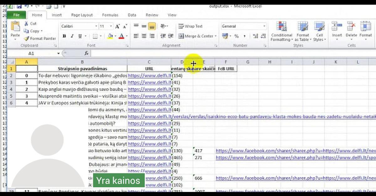 Duomenų analitikas