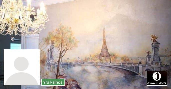 Meninis sienų dekoravimas, dekoratyvinis tinkas