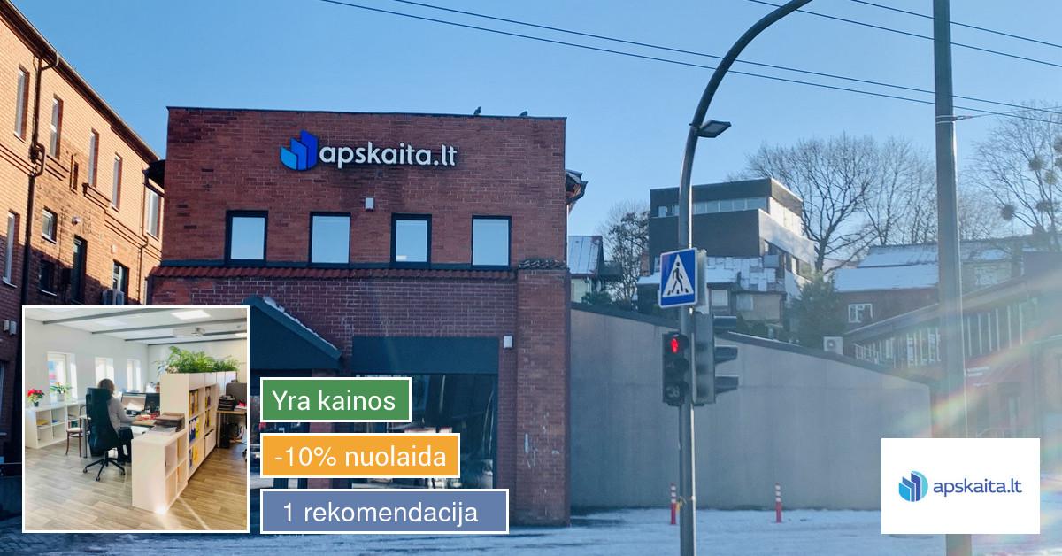 Buhalterinės paslaugos visoje Lietuvoje!