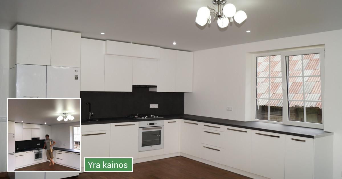 Virtuves baldai jūsų namams ir kiti įvairus darbai
