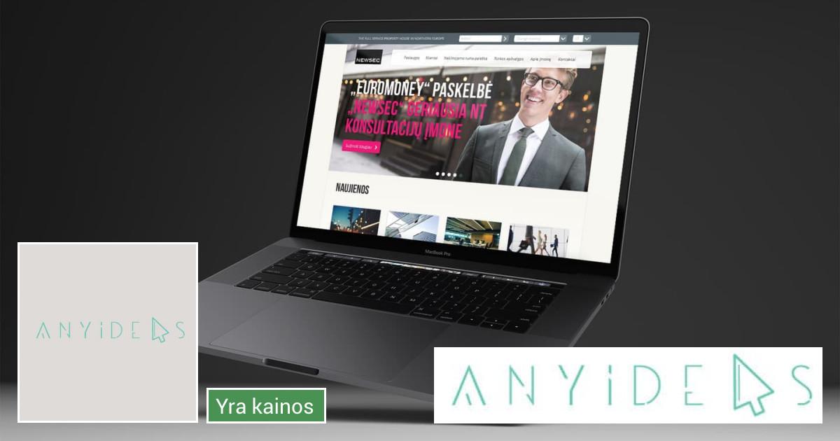 Internetinių svetainių kūrimas AnyIdeas