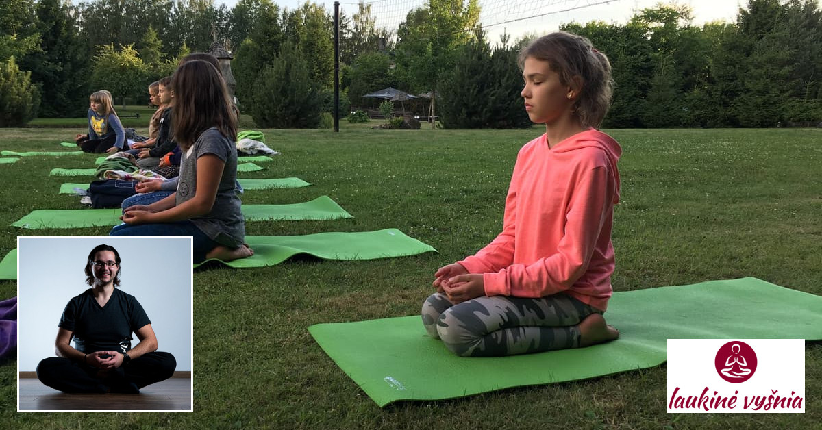 Vaikų žaidiminė joga
