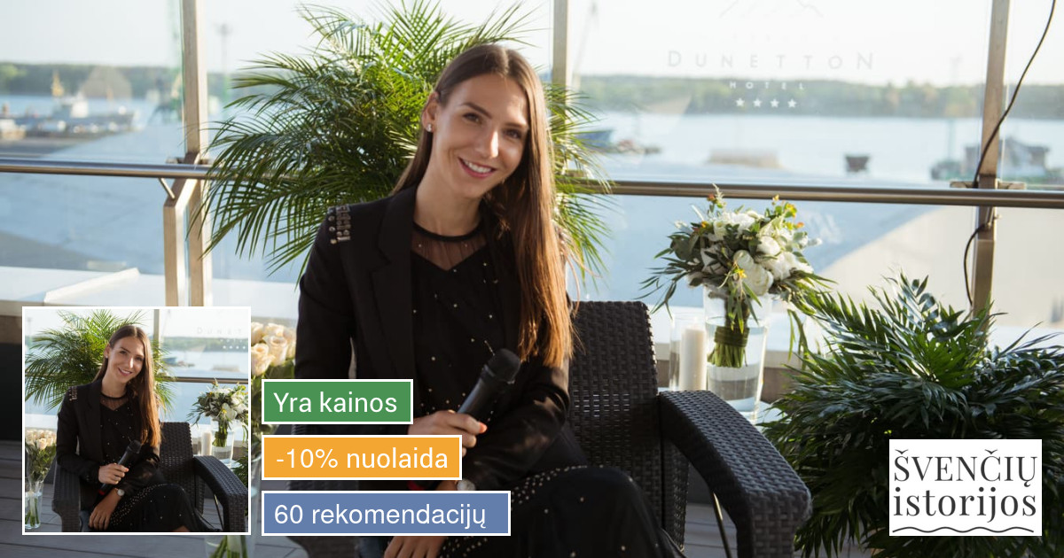 Renginių vedėja (LT/EN kalbomis) Monika