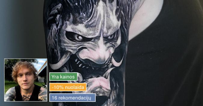 Profesionalios tattoo tik žinantiems, ko nori.