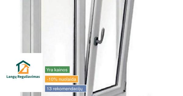 Langų ir durų remontas