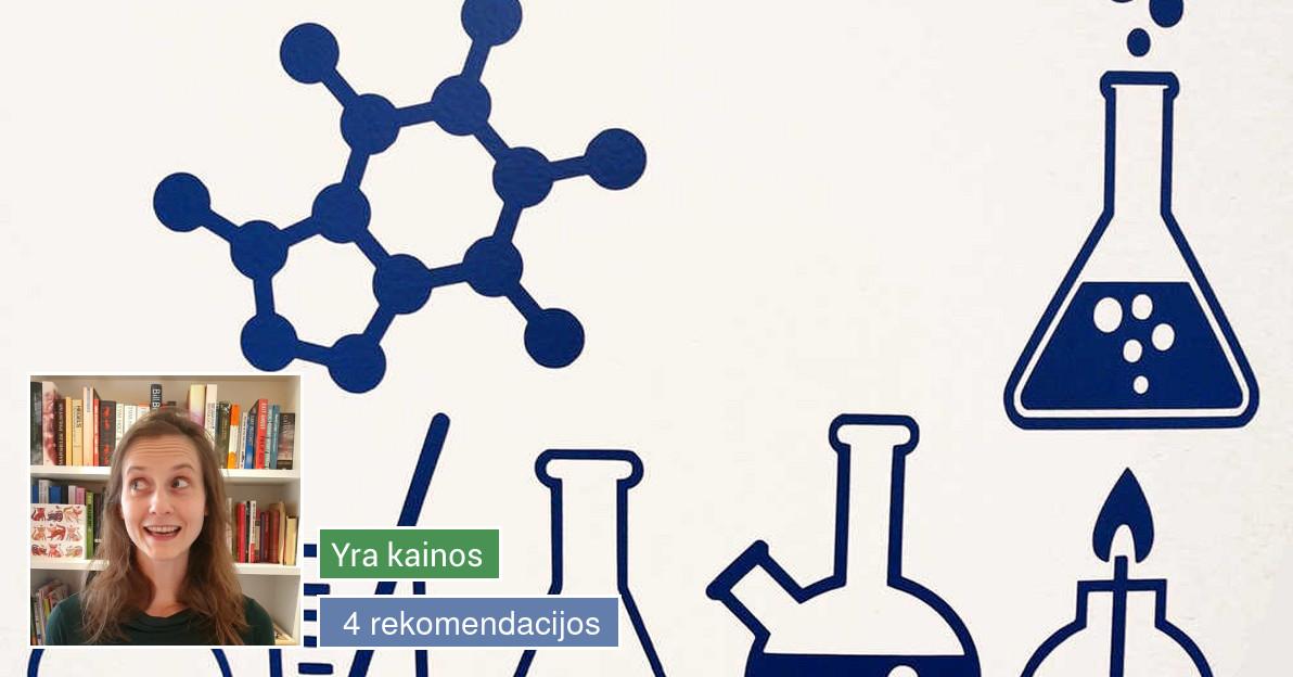 Chemijos pamokos moksleiviams bei studentams