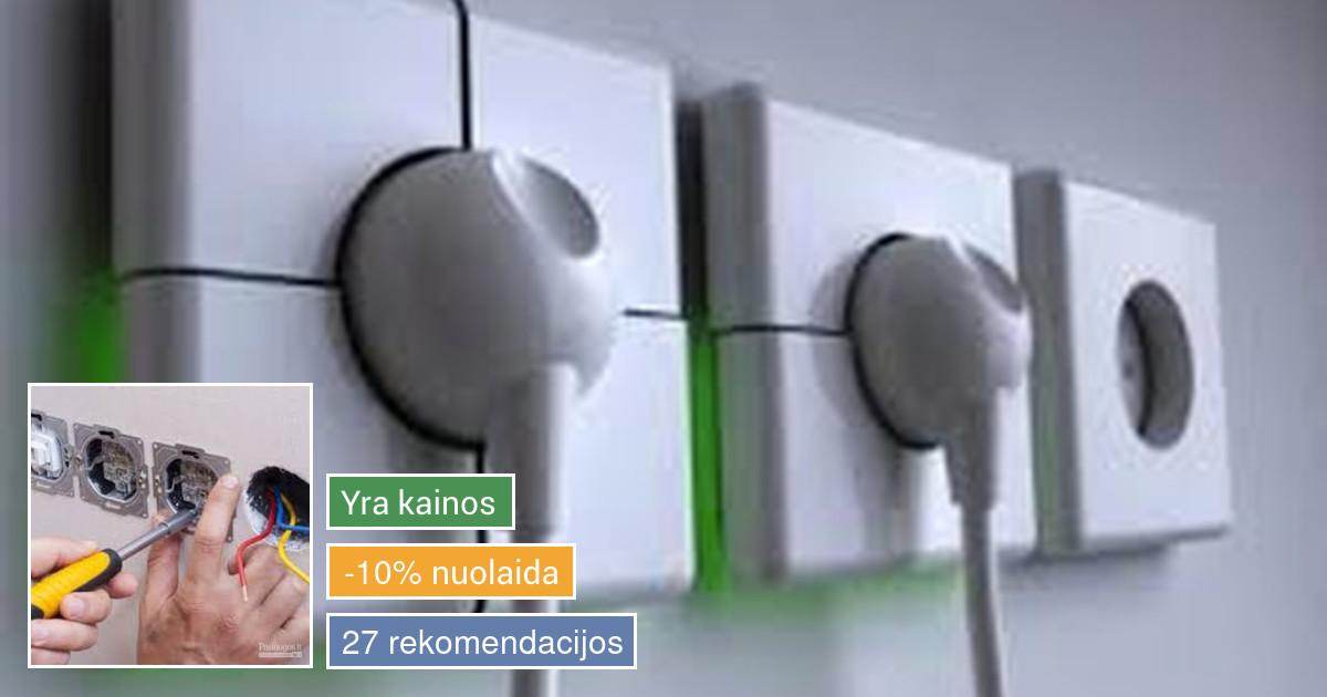 elektros instaliacijos, apsaugos ir video  sistemų įrengimas