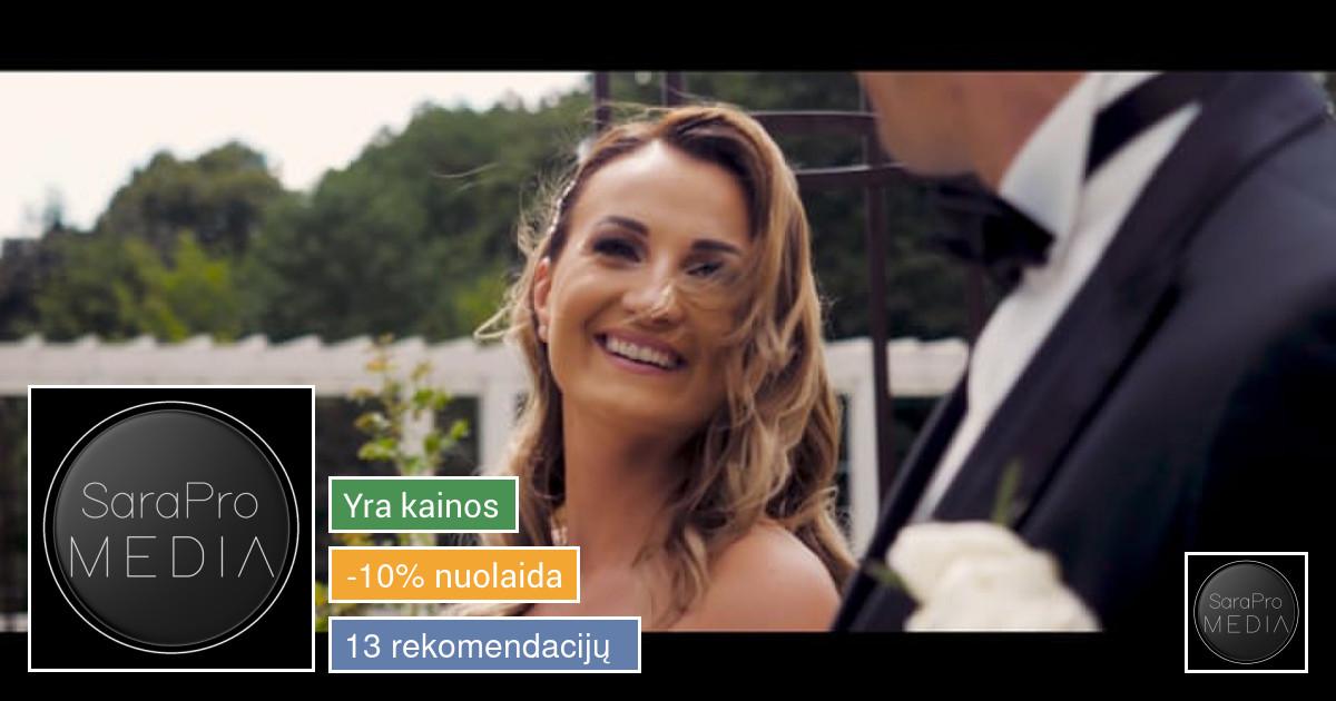 Vestuvių filmavimas 2019/2020m. rezervacija