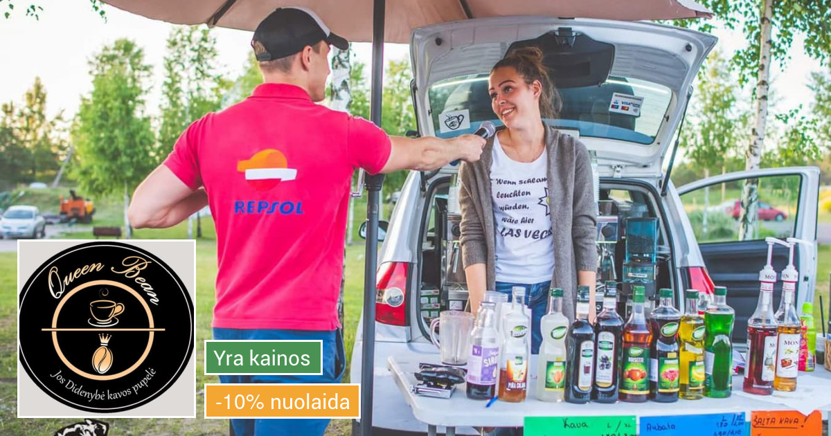 Kavos Automobilis Visoje Lietuvoje!