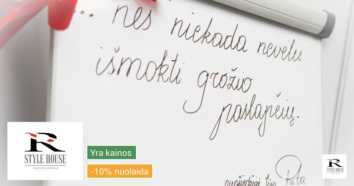 Grožio specialistų mokymai Kaune