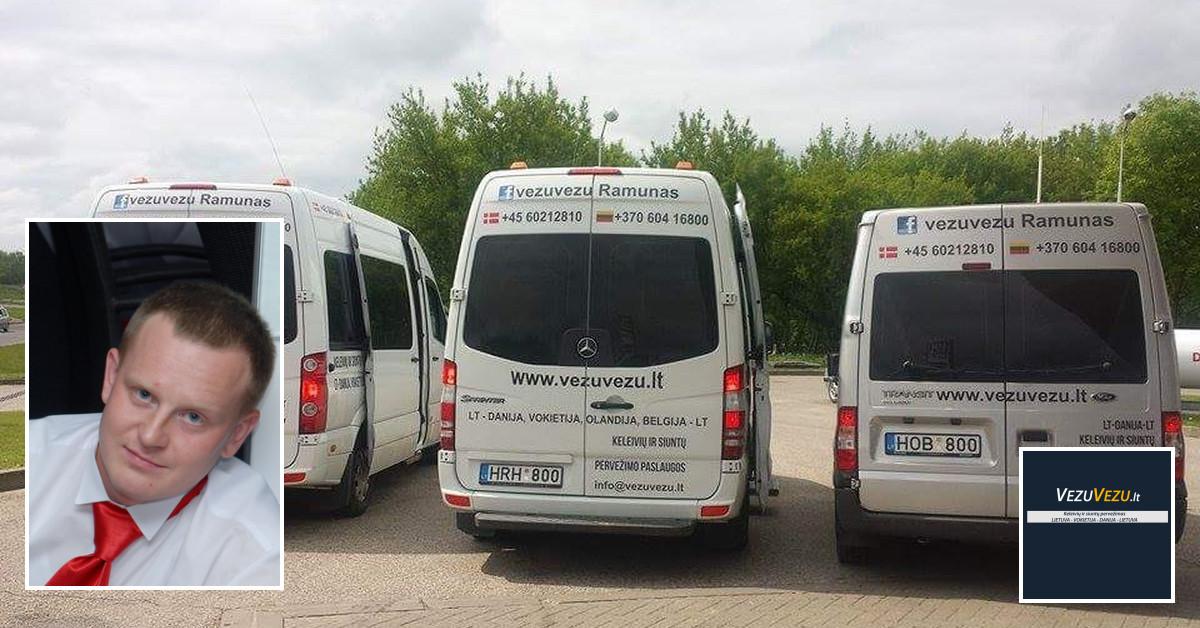 Keleivių pervežimas vezuvezu.lt 8-604 16800