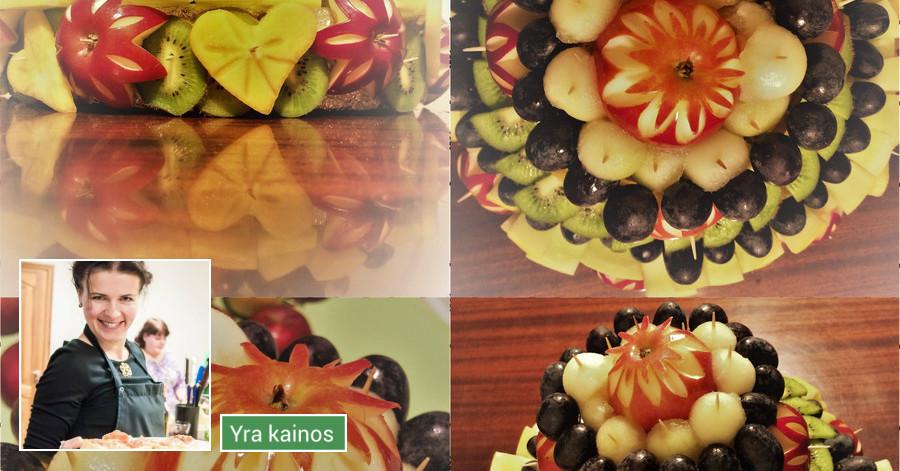 Vaisių tortai