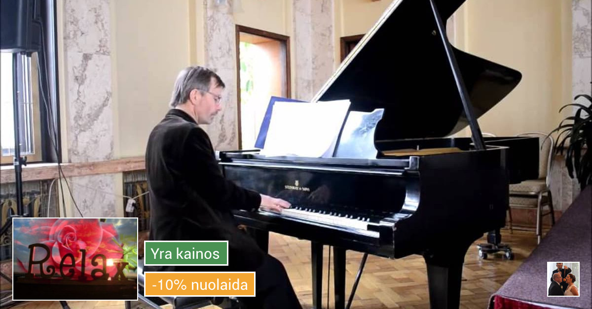Gyva solo akordeono ir (ar) pianino muzika