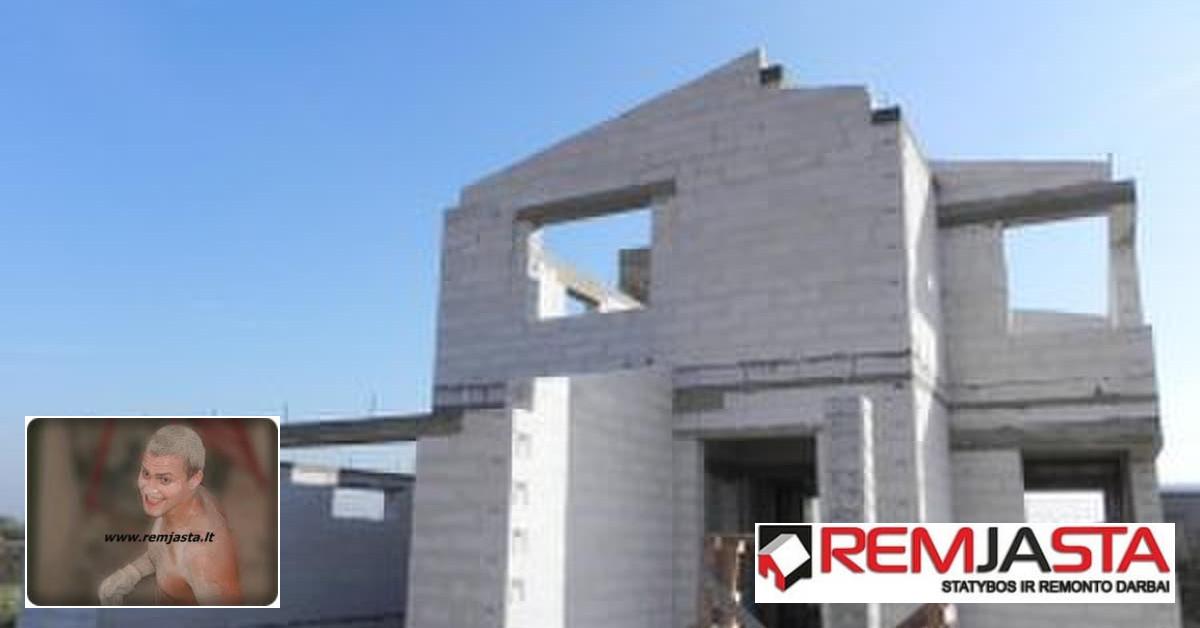 Statyba, remontas, apdaila Šiauliuose