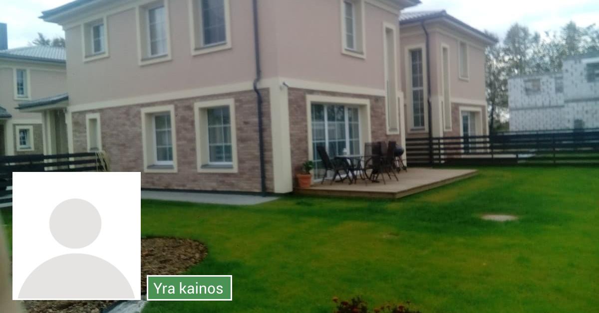 Namų statyba nuo 350 eur / 1m2 su medžiagomis