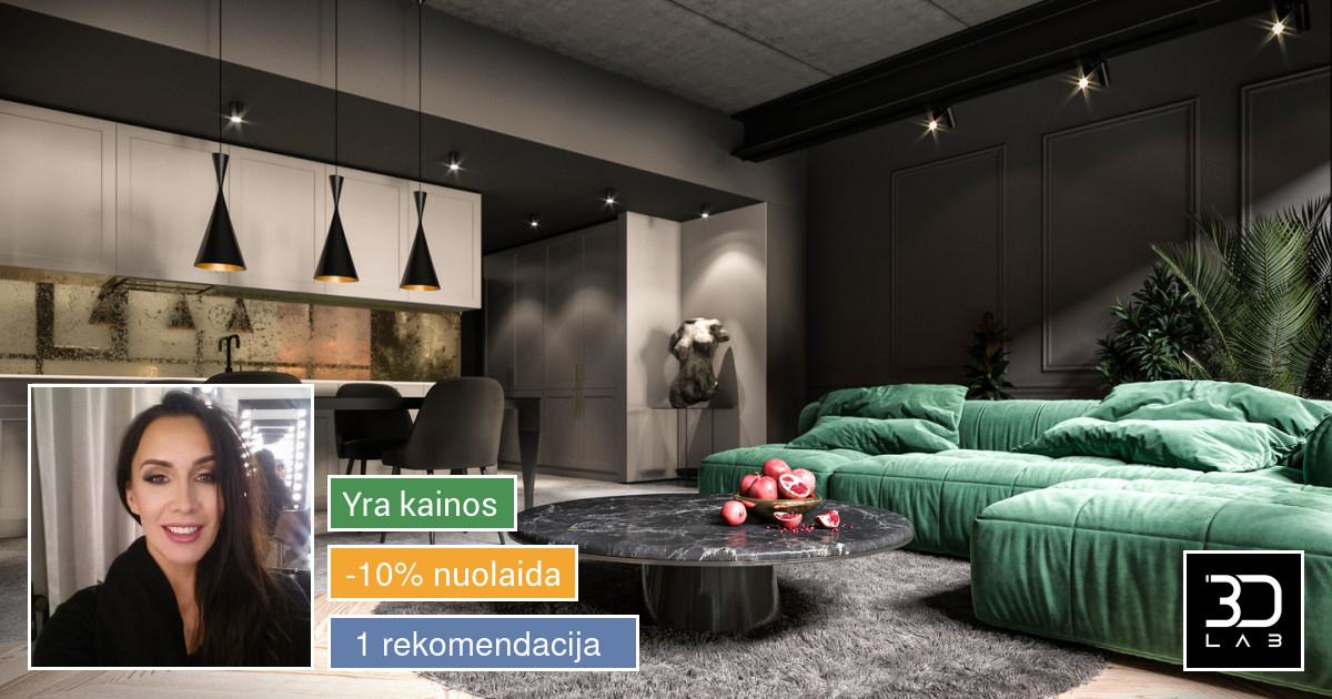 3Dlab - Aukštos kokybės vizualizacijos ir video