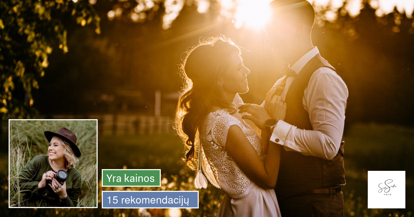 Rezervuok savo vestuvių datą 2019 metams!