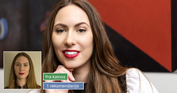 Soc. tinklų komunikacijos specialistė ir tekstų kūrėja
